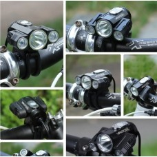 Front Bicycle light Bike Lamp Headlight with Battery and Back Tail Light